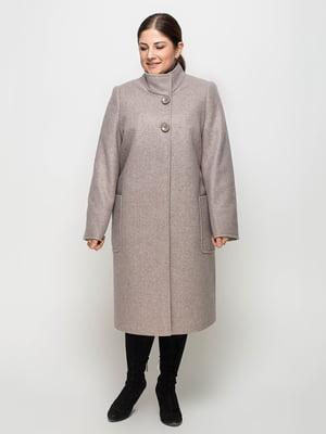 Пальто цвета какао | 5252118