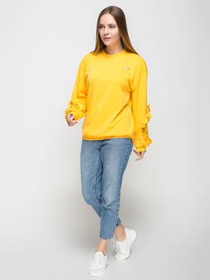 Худи желтая | 5091944