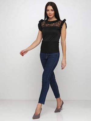 Блуза черная | 5253198