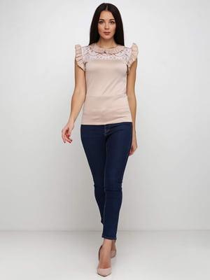 Блуза бежевая   5253202