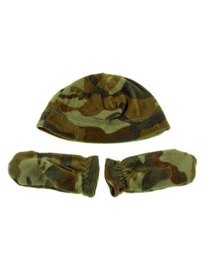 Комплект: шапка и рукавицы | 5253806