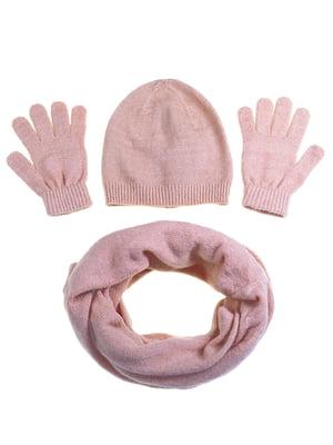Комплект: шапка, шарф и перчатки   5253808