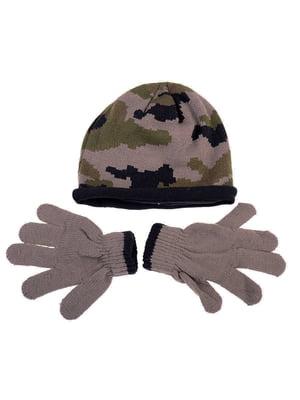 Комплект: шапка и перчатки | 5253810