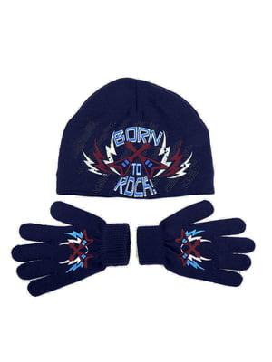 Комплект: шапка и перчатки | 5253811