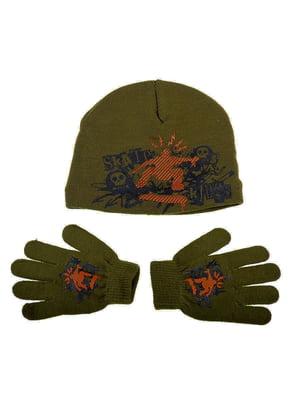 Комплект: шапка и перчатки | 5253812