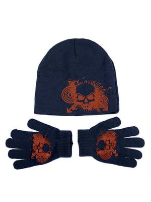Комплект: шапка и перчатки | 5253813