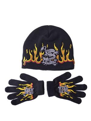 Комплект: шапка и перчатки | 5253814