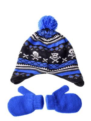 Комплект: шапка и рукавицы | 5253815