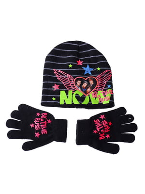 Комплект: шапка и перчатки | 5253818