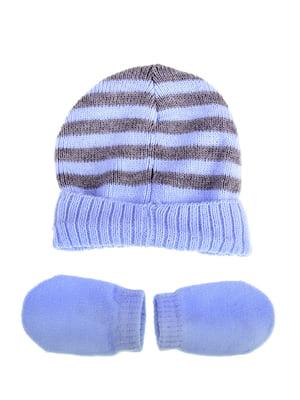 Комплект: шапка і рукавиці | 5253824