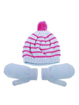 Комплект: шапка и рукавицы | 5253826