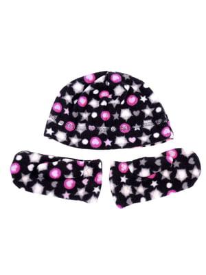 Комплект: шапка и рукавицы | 5253827