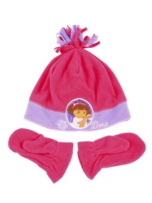 Комплект: шапка и рукавицы | 5253829