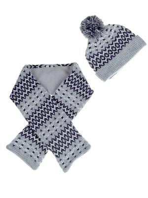 Комплект: шапка и шарф | 5253923