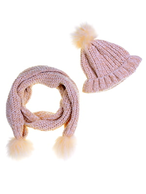 Комплект: шапка и шарф | 5253925