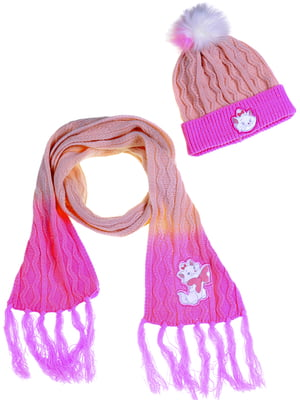 Комплект: шапка и шарф | 5253927