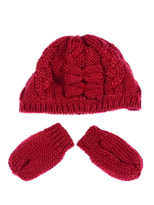 Комплект: шапка і рукавиці | 5253993