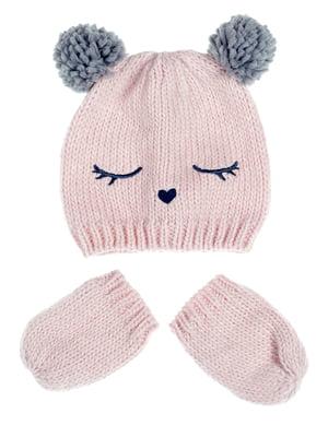 Комплект: шапка и рукавицы | 5253994