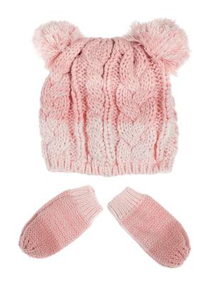 Комплект: шапка и рукавицы | 5253997
