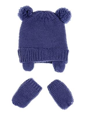Комплект: шапка и рукавицы | 5254001