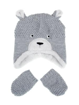 Комплект: шапка и рукавицы | 5254002