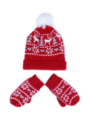 Комплект: шапка и рукавицы | 5254006