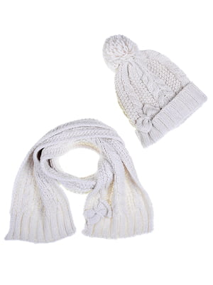 Комплект: шапка и шарф | 5254011