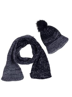 Комплект: шапка и шарф | 5254013