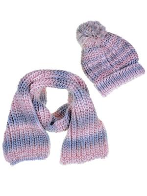 Комплект: шапка и шарф | 5254014