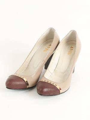 Туфлі бежеві   5253455