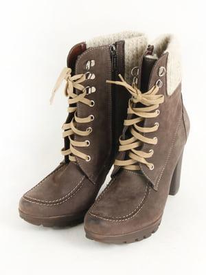 Черевики коричневі | 5253536