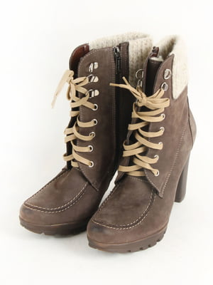 Ботинки коричневые | 5253536