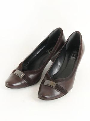 Туфлі коричневі | 5253540