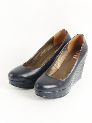 Туфлі темно-сині   5253597