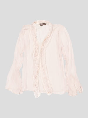 Блуза светло-бежевая | 2913306