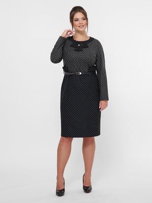 Сукня сіро-чорна   5254554