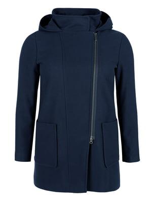 Пальто темно-синее | 5254183