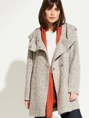 Пальто сіре | 5254200