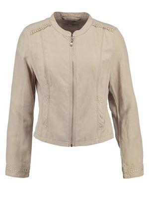 Куртка бежева | 5254205