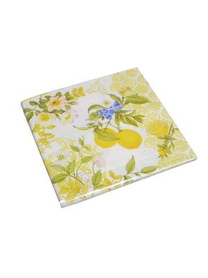 Салфетки бумажные «Лимон» | 5151960