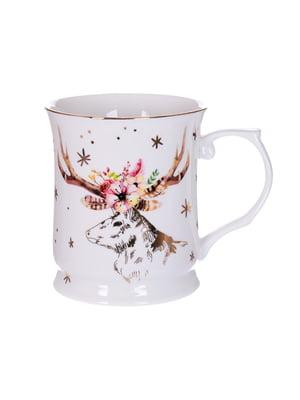 Чашка «Різдвяний олень» (400 мл) | 5254473