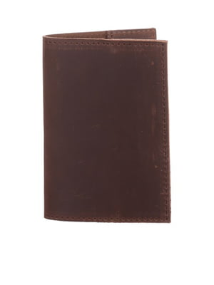 Обкладинка на паспорт коричнева   5254797