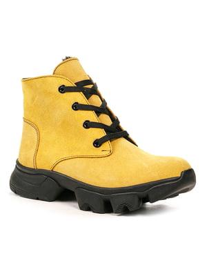Ботинки горчичного цвета   5243763
