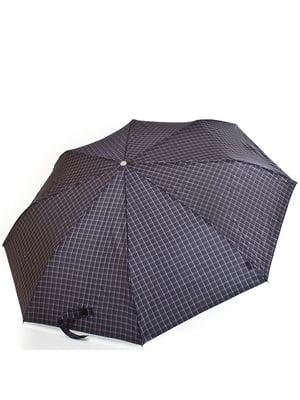 Зонт-полуавтомат черный | 5255169