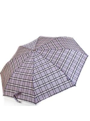 Зонт-полуавтомат серый | 5255172