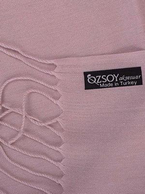 Палантин бледно-розовый | 5255223