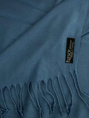 Палантин синій | 5255232