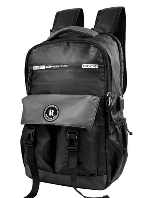 Смарт-рюкзак чорний | 5255307