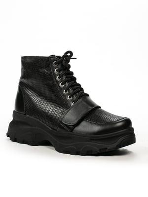 Ботинки черные | 5246216