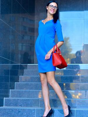 Платье цвета электрик | 1823037